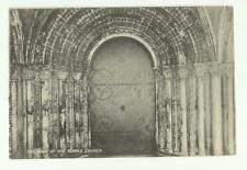 The Door of the Temple Church, Finsbury Park, London old postcard