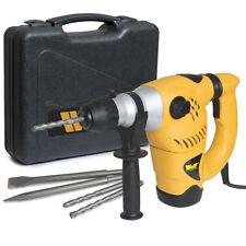 WOLF 1500w Rotary SDS Drill Heavy Duty Impact Hammer Drill 240v