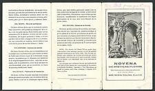 Estampa antigua de Sor Marina Celina andachtsbild santino holy card santini