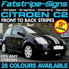 CITROEN C2 STRIPES GRAPHICS CAR VINYL DECALS STICKERS VTR VTS 1.1 1.4 1.6 VIPER