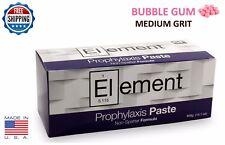 Element Prophy Paste Cups Bubble Gum Medium Grit 200box Dental Withflouride
