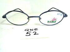 Nos Vintage Viva Roma Eyeglasses frame Vr 529 Black Grey (Qwe-52)