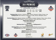 AFL 2011 Premiers Geelong Cats BLURAY + 2 DVD (Collectors Tin with Postcard)