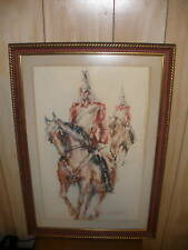 LISTED BRITISH FELIX FABIAN WATERCOLOR PAINTING ENGLAND