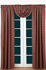 Braddock Scalloped Lined Curtain Panel Set by VHC Brands - On Sale