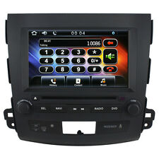 US Ship Autoradio GPS Satnav Headunit Stereo DVD for Mitsubishi Outlander