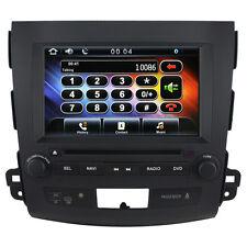 US Ship Autoradio GPS Satnav Headunit Stereo DVD for Mitsubishi Outlander
