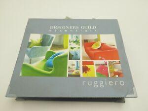DESIGNERS GUILD - RUGGIERO / VARESE - Velvet Fabric Swatch Sample Book