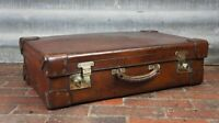 Luxury Antique Leather Suitcase By John Pound Actual Maker