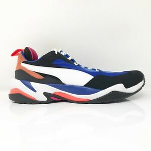 Puma Mens Thunder 4 Life 36947101 Blue Running Shoes Lace Up Low Top Size 9.5