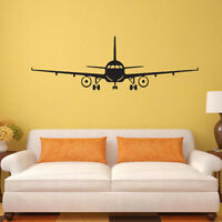 Airplane Aircraft Wall Decals Stickers Creative Plane Art Decal Boys Bedroom
