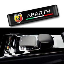 x1 ABARTH Sticker Interior Exterior Flexible Emblem Fiat 500 595 695 Punto Panda