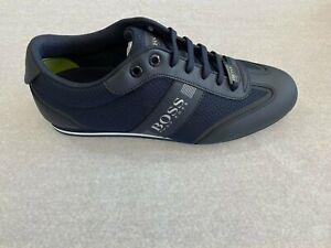 HUGO HUGO BOSS Men's Sneakers Lighter Lowp MXME 401 Dk Blue