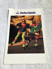 Vintage rollerblade catalogue 1990