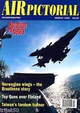 Air Pictorial 1998 March Finland,Heston,Braathens,Aurigny,USAFE B-66