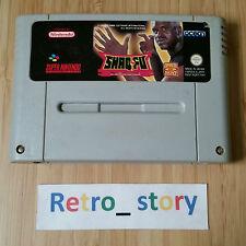 Super Nintendo SNES Shaq Fu PAL