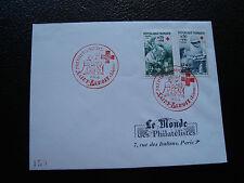REUNION - enveloppe 1er jour le monde des philatelistes 11/12/1966 (cy40)