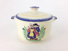 """Quimper Faiencerie de Pornic France Decorative Mini Casserole Dish Pot Floral 4"""""""
