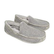 Ugg Wool Gray Slippers Size 9 No Box - New