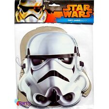 Star Wars Party Masks x 8 Birthday Boys Decorations Supplies