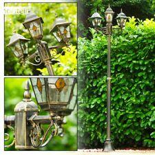 candelabra 3 head outdoor lamp post classic victorian garden lantern IP44 30122