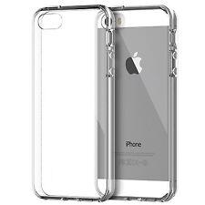 Pour Iphone SE Coque Housse transparente ajustée GEL PROTECTION D'écran offerte