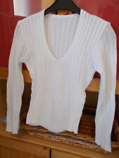 pull femme T34 blanc