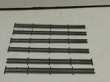 HO scale model railroad picket fence 6 pieces