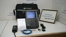 Keysight Agilent N9961a 44 Ghz Field Fox Handheld Spectrum Analyzer Opt 235