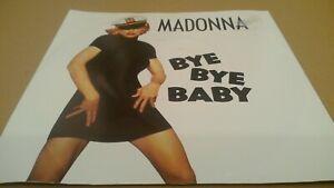 "Madonna - Bye Bye Baby - Europe 1993 Maverick WE 171 Vinyl 7"" Single"