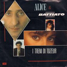 """ALICE & BATTIATO – I Treni Di Tozeur (1984 EUROVISION SINGLE 7"""" DUTCH PS)"""