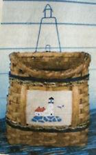 Basket Weaving Pattern Nancy's Lighthouse Basket by Maurine Joy