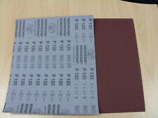 Aluminium Oxide Starcke Sandpaper - Flexible Cloth P120 - 1 pack of 10 sheets