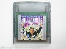 Who Wants to Be a Millionaire: 2nd Edition (Nintendo Game Boy Color, 2000) NTSC