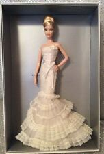 VERA WANG BRIDE THE ROMANTICIST BARBIE DOLL 2008 #59 PLATINUM LABEL L9664 MINT