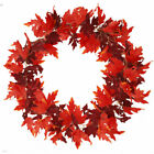 175cm Artificial Maple Leaves Garland Hanging Plant Autumn Fall Party Home Decor