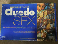 Cluedo SFX Electronic Talking Detective Classic Family Board Game Parker (2003)