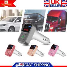 Cargador DE COCHE DOBLE USB 12v enchufe encendedor zócalo adaptador usb doble de carga rápida Reino Unido