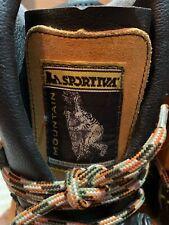 """Men's La Sportiva  Mountaineering Boots Size US 10 Perfect condition """"RETRO"""""""