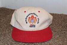 Vintage 90s 80s Abu Garcia Ambassadeur Club Fishing Reel Hat Cap Snapback