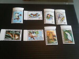 BENIN 1982 SG 861-868 BIRDS MNH  (E)