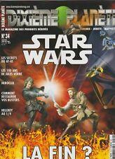 Revue Dixième Planète N°34  Avril 2005 Star Wars Jules Verne