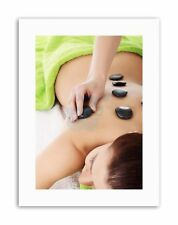COMPOSITION SPA BEAUTY RELAX HEALTH STONES Canvas art Prints