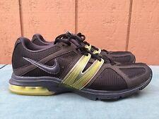 Nike Womens Air Max Trainer Excel Shoes 429663-010 US Sz 8 EU 39 Black/Yellow