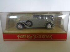 matchbox models of yesteryear Y40 1931  Mercedes Benz 770