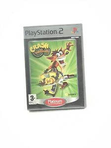Crash Twinsanity Platinum ps2 Playstation 2 Videospiel Neuwertig UK Release TOP