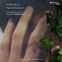 Purcell: Funeral Sentences - Philippe Herreweghe Collegium Vocale Gent (NEW CD)