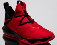 Nike Zoom Shift 2 Men New Red Crimson Black Low Basketball Sneakers AR0458-600