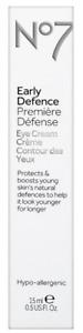 No7 Early Defence Eye Cream Hypo-Allergenic 0.5 oz