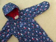 JOJO MAMAN BEBE Waterproof All In One Fleece Lined SNOWSUIT 18-24m IMMACULATE